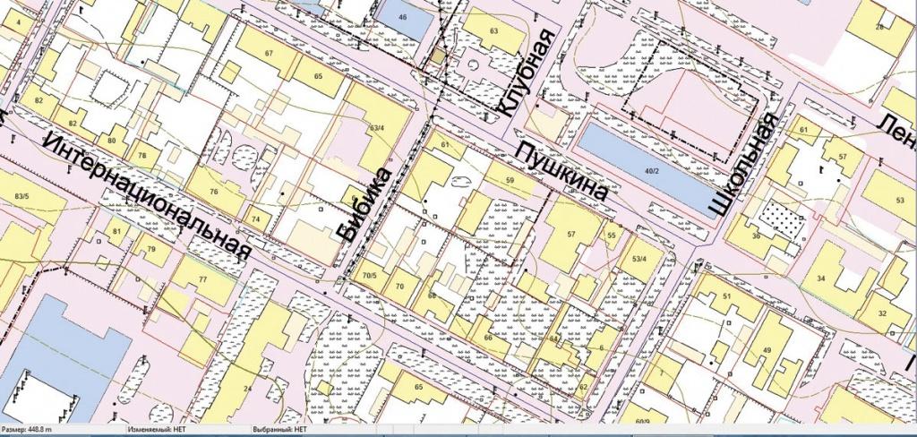 Дежурная карта города